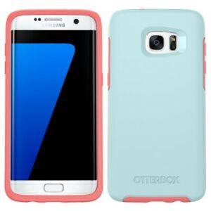 NWT otter box symmetry blue phone case Samsung j7